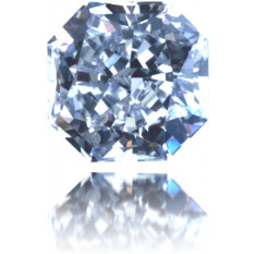 Natural Blue Diamond Square 0.34 ct Polished