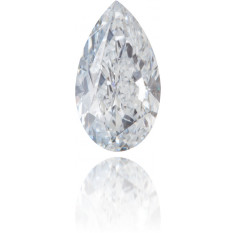 Natural Blue Diamond Pear Shape 0.31 ct Polished