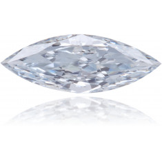 Natural Blue Diamond Marquise 0.23 ct Polished