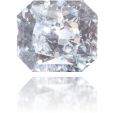Natural Blue Diamond Square 0.17 ct Polished
