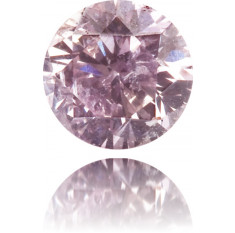 Natural Purple Diamond Round 0.15 ct Polished