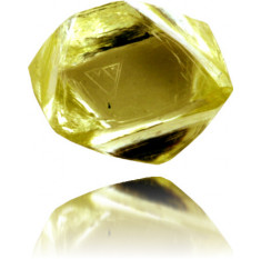Natural Yellow Diamond Rough 0.85 ct Rough