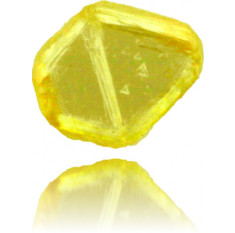 Natural Yellow Diamond Rough 0.33 ct Rough