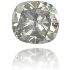 Natural Gray Diamond Cushion 0.52 ct Polished