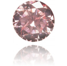Natural Pink Diamond Round 0.11 ct Polished