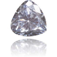Natural Blue Diamond Triangle 0.10 ct Polished