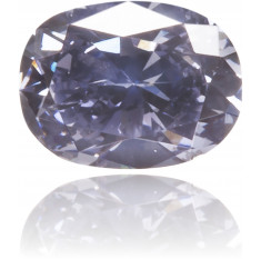 Natural Blue Diamond Oval 0.10 ct Polished
