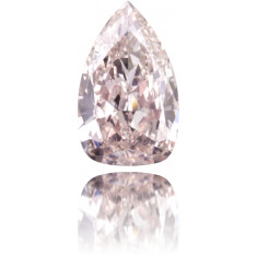 Natural Pink Diamond Pear Shape 4.67 ct Polished