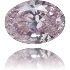 Natural Purple Diamond Oval 0.14 ct Polished