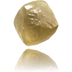 Natural Yellow Diamond Rough 0.90 ct Rough