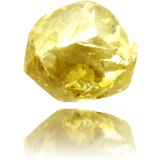 Natural Yellow Diamond Rough 0.86 ct Rough