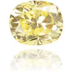 Natural Yellow Diamond Oval 0.24 ct Polished