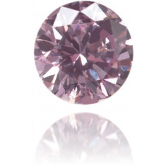 Natural Pink Diamond Round 0.07 ct Polished
