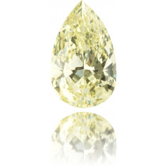 Natural Yellow Diamond Pear Shape 5.24 ct Polished