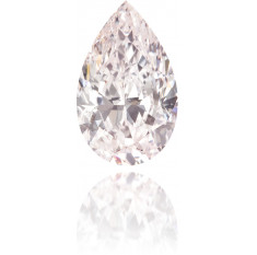 Natural Pink Diamond Pear Shape 1.00 ct Polished