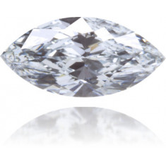 Natural Blue Diamond Marquise 0.24 ct Polished