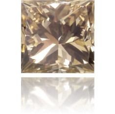 Natural Brown Diamond Square 0.17 ct Polished