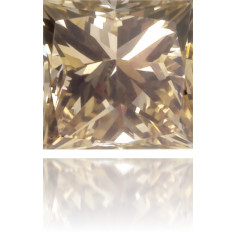 Natural Brown Diamond Square 0.15 ct Polished