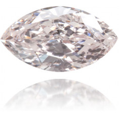 Natural Pink Diamond Marquise 0.13 ct Polished