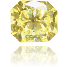 Natural Yellow Diamond Square 0.11 ct Polished