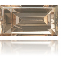 Natural Brown Diamond Baguette 0.16 ct Polished