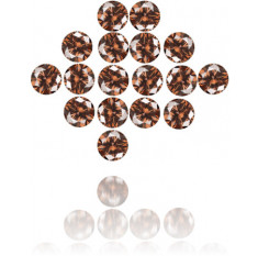 Natural Brown Diamond Round 2.39 ct Set