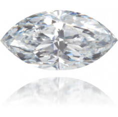 Natural Blue Diamond Marquise 0.39 ct Polished