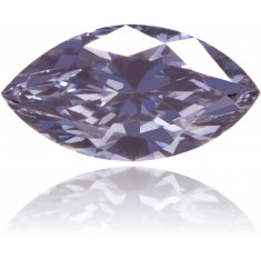 Natural Blue Diamond Marquise 0.10 ct Polished