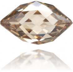 Natural Brown Diamond Briolet 4.01 ct Polished