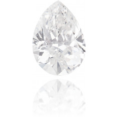 Natural White Diamond Pear Shape 1.29 ct Polished