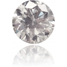 Natural Gray Diamond Round 0.46 ct Polished