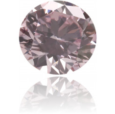Natural Pink Diamond Round 0.25 ct Polished