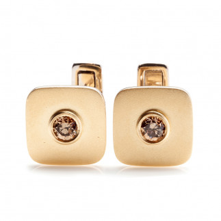 Champagne Diamonds Cufflinks