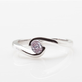 Purple Oval Tension Ring