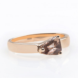 Chocolate Rough Diamond Ring