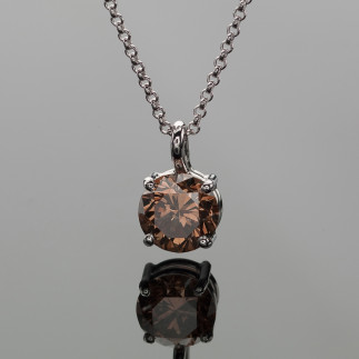 Chocolate Diamond Necklace