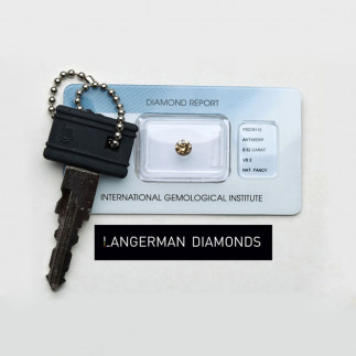 Diamond Key Ring