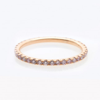 Pink Diamond Eternity Ring