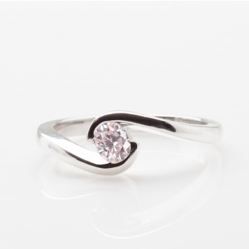 Pink Oval Tension Ring