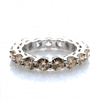 Champagne Eternity Ring