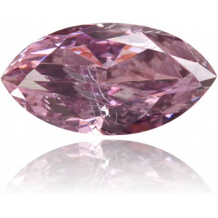 Natural Purple Diamond Marquise 0.29 ct Polished