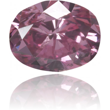 Natural Pink Diamond Oval 0.13 ct Polished