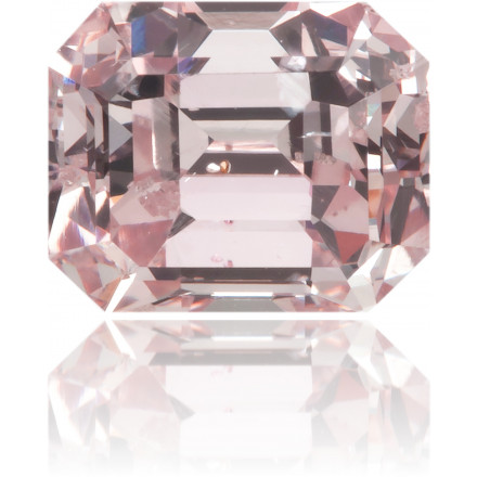 Natural Pink Diamond Rectangle 0.90 ct Polished