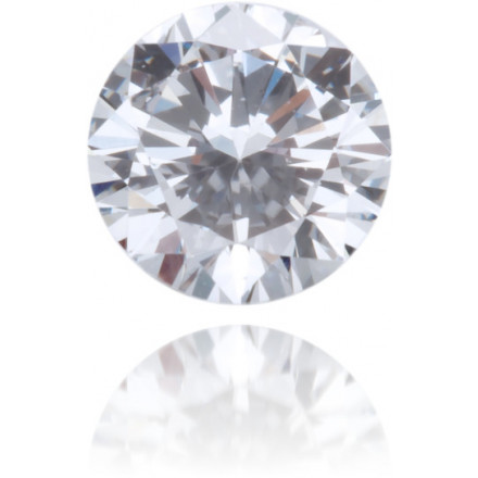 Natural Blue Diamond Round 0.34 ct Polished