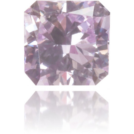 Natural Purple Diamond Square 0.12 ct Polished