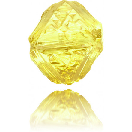 Natural Yellow Diamond Rough 0.72 ct Rough