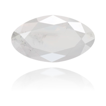 Natural White Diamond Oval 1.13 ct Polished