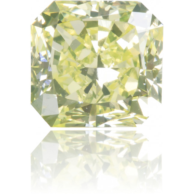 Natural Green Diamond Square 1.17 ct Polished