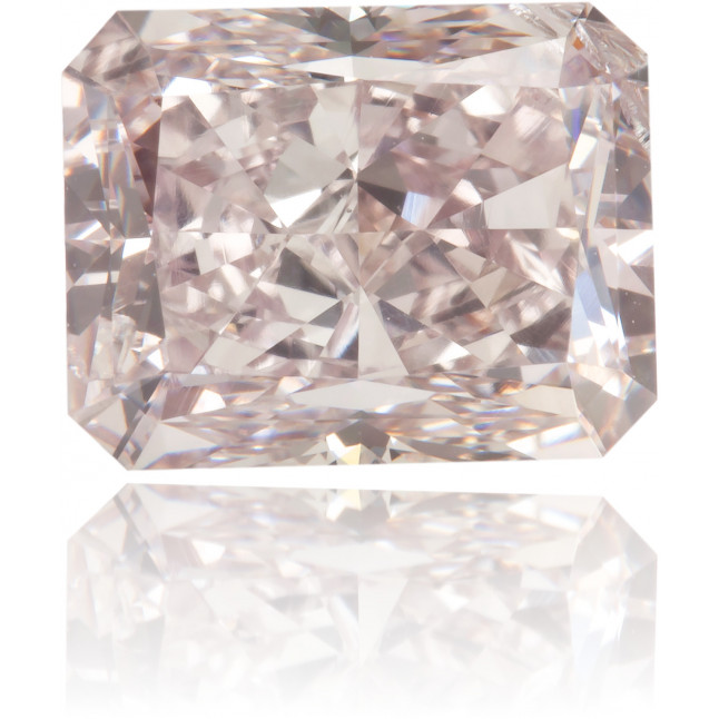Natural Pink Diamond Square 2.19 ct Polished