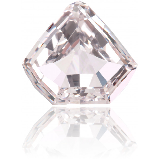 Natural Pink Diamond Shield 1.03 ct Polished